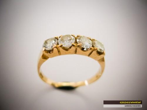 Der Rivière-Ring in seiner ursprünglichen Form...